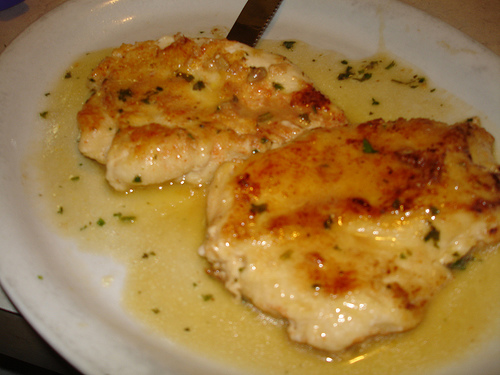 Recipe: Chicken Francese