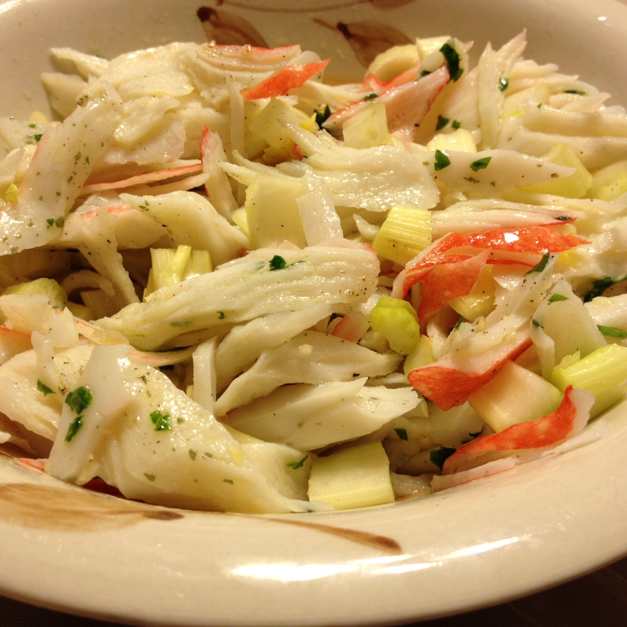Crabmeat Salad State Of Mind