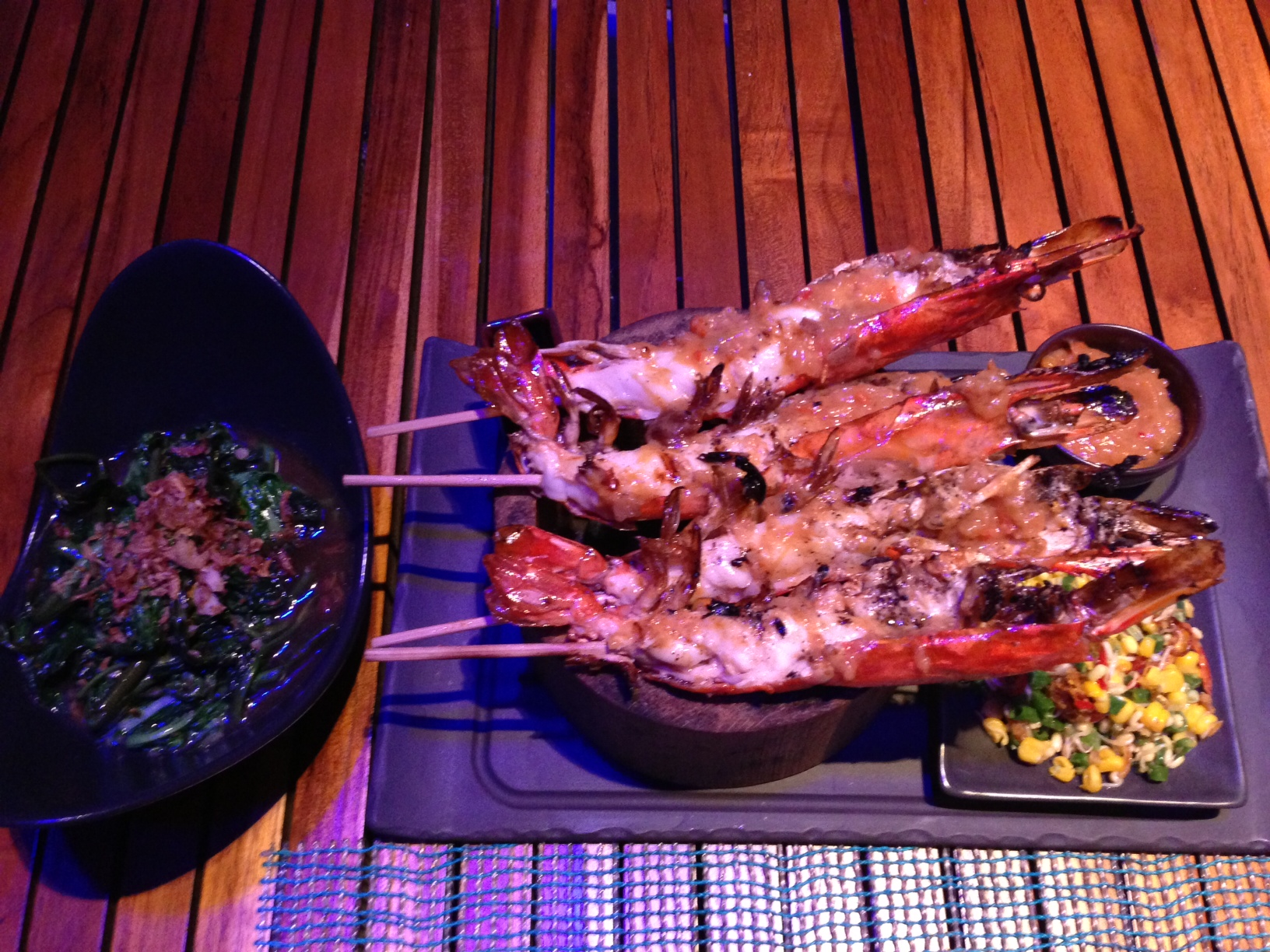 Sumbawa Grilled River Prawn