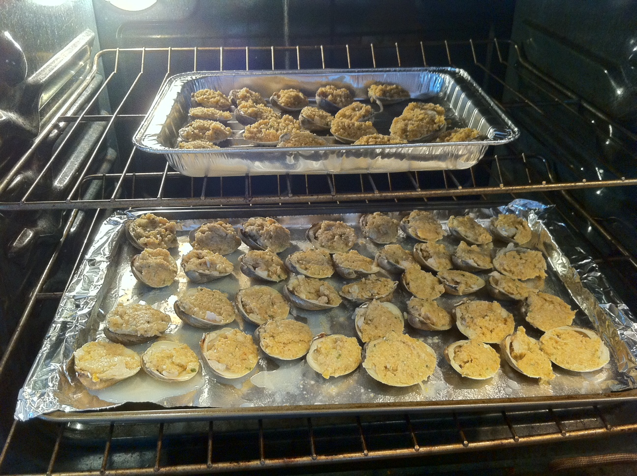 Baked Clams In The Oven!