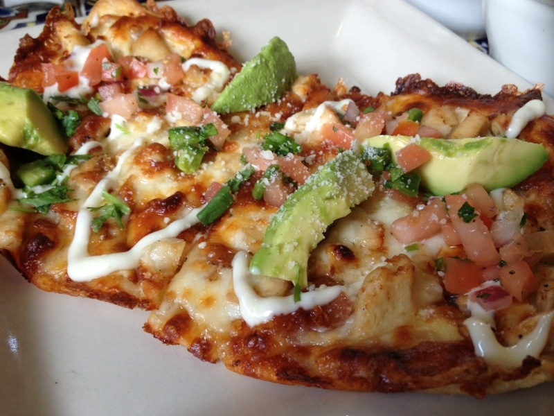 Chili's California Chicken Flatbread