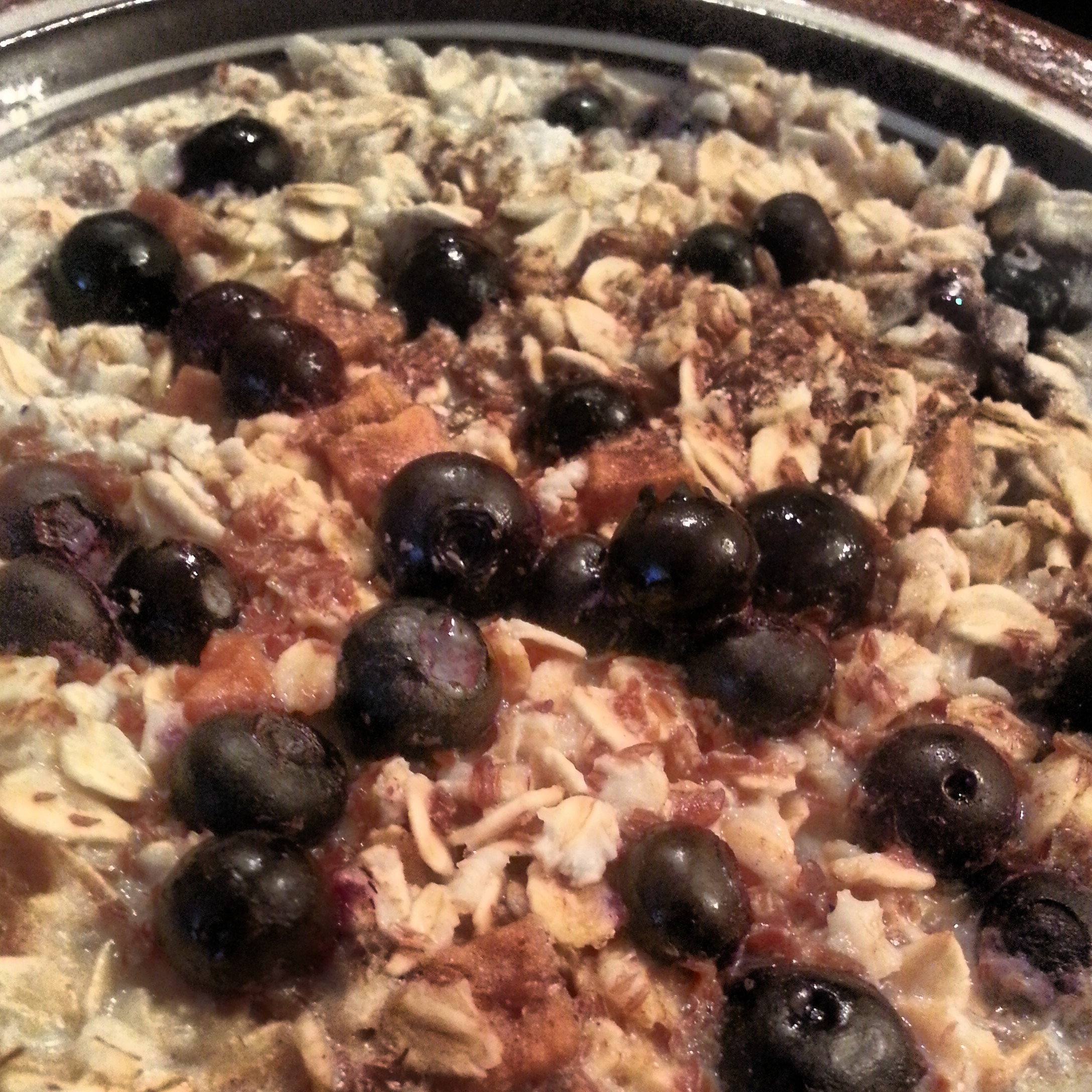 Not Your Grandma's Blueberry Oatmeal