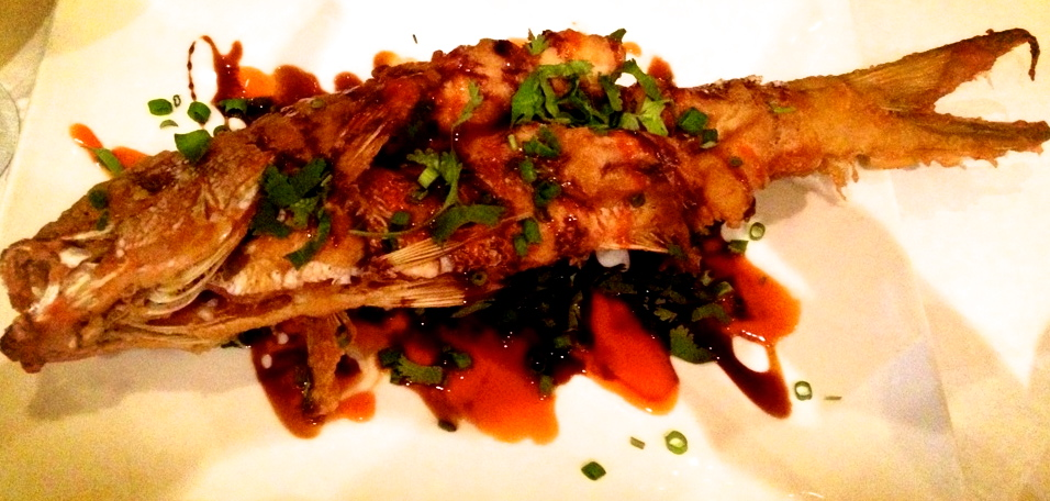 Vue Crispy Whole Catch at Vue on 30A