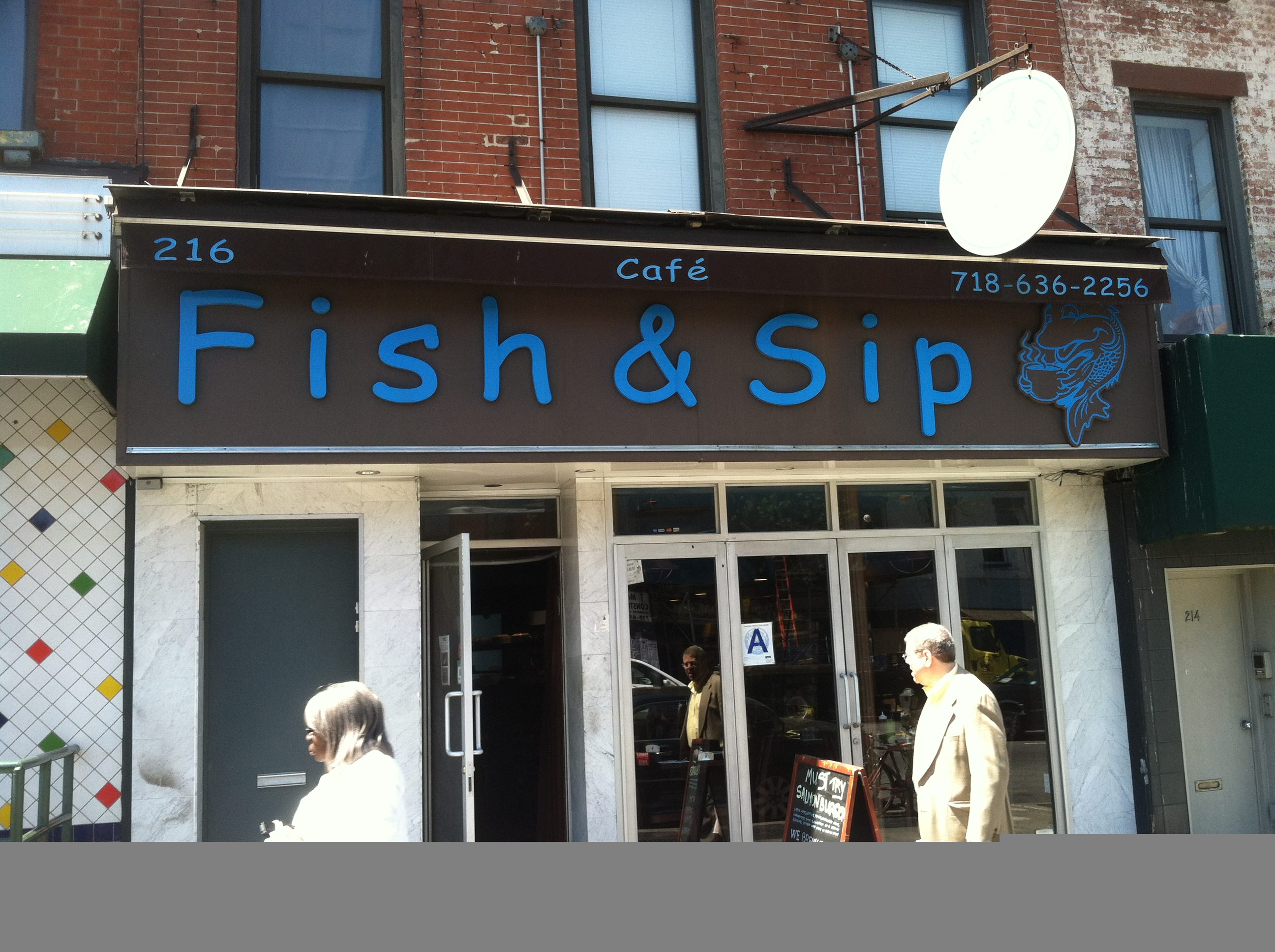 Fish & Sip Cafe