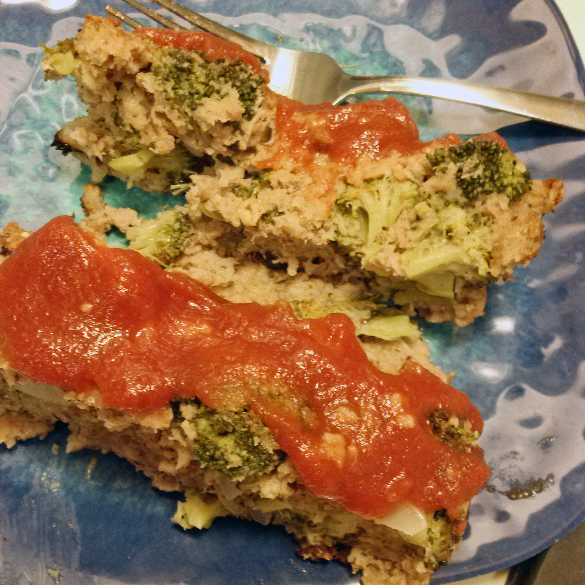 Turkey and Broccoli Meatloaf