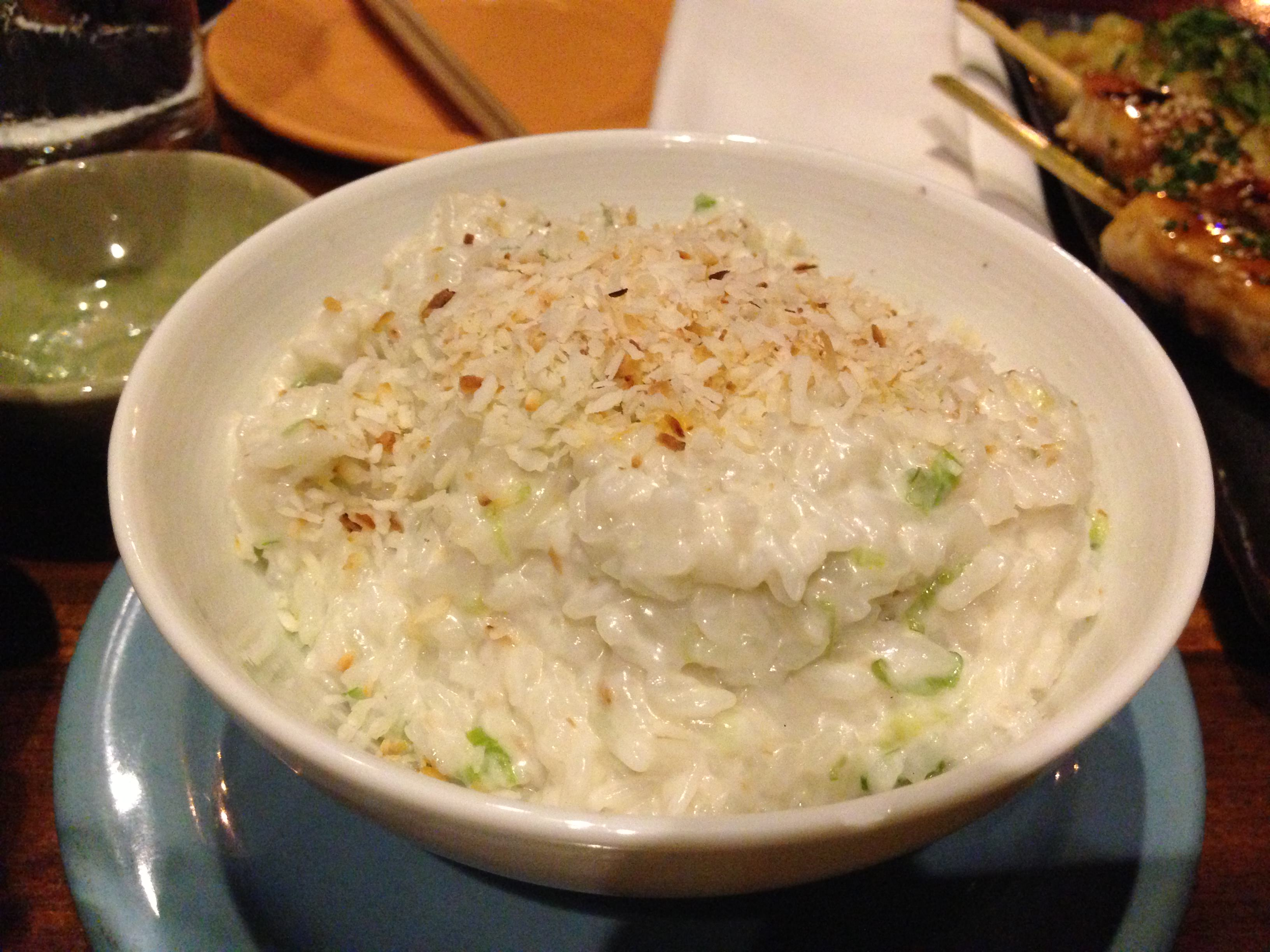 Coconut Rice from @SushiSamba