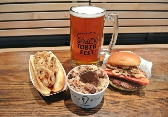 SHAKE SHACK TOASTS TO AUTUMN WITH 8TH ANNUAL SHACKTOBERFEST