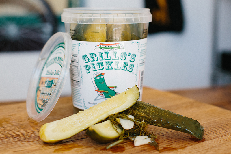 Boston's Grillo's Makes Pickles Some Real Snack Shxt