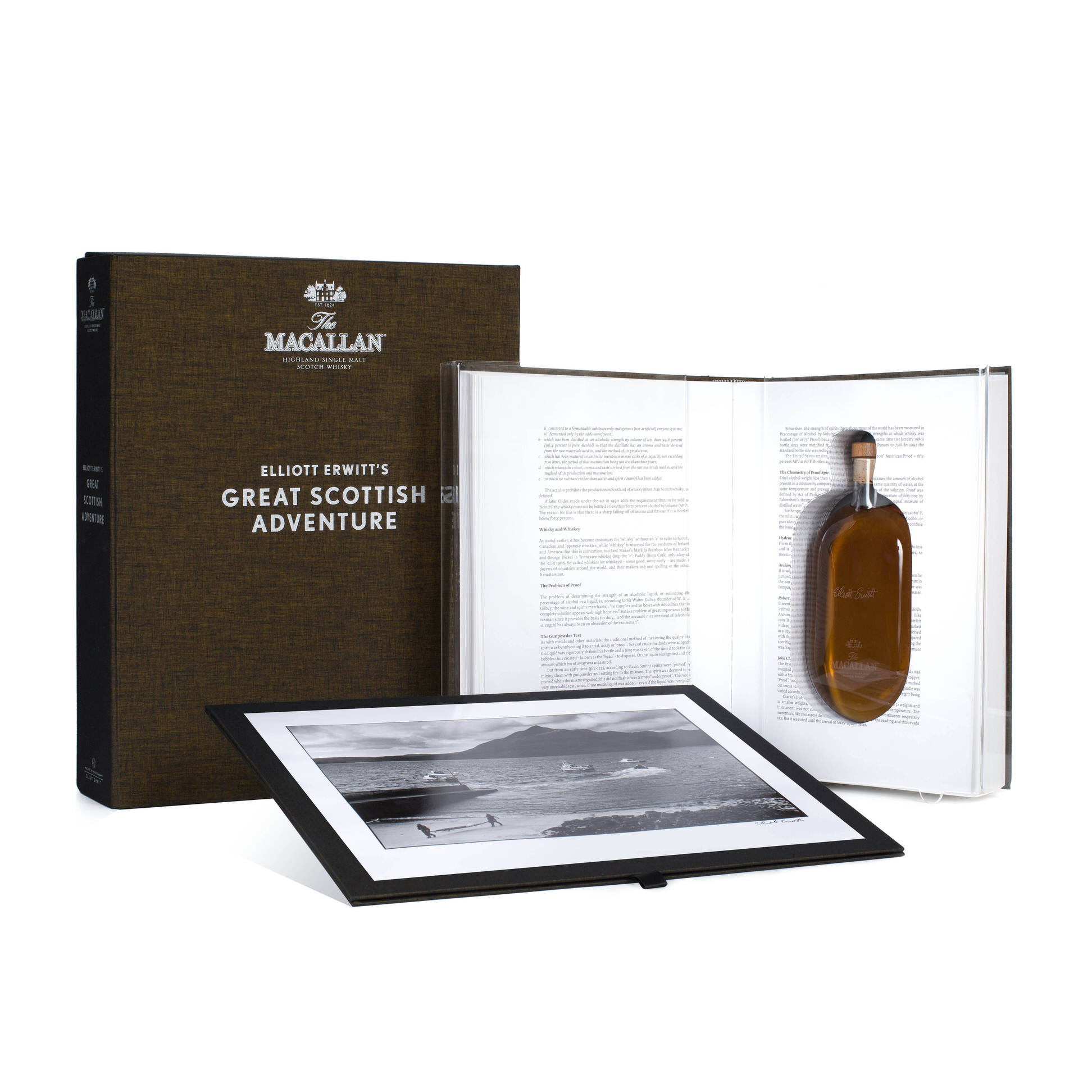 The Macallan Distillery Taps Elliott Erwitt For 'Masters of Photography Series'