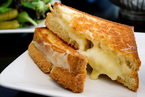 The key to a great Grilled Cheese sandwich is: