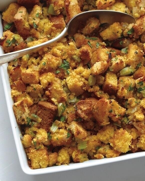 Thanksgiving Bacon-Cornbread Stuffing