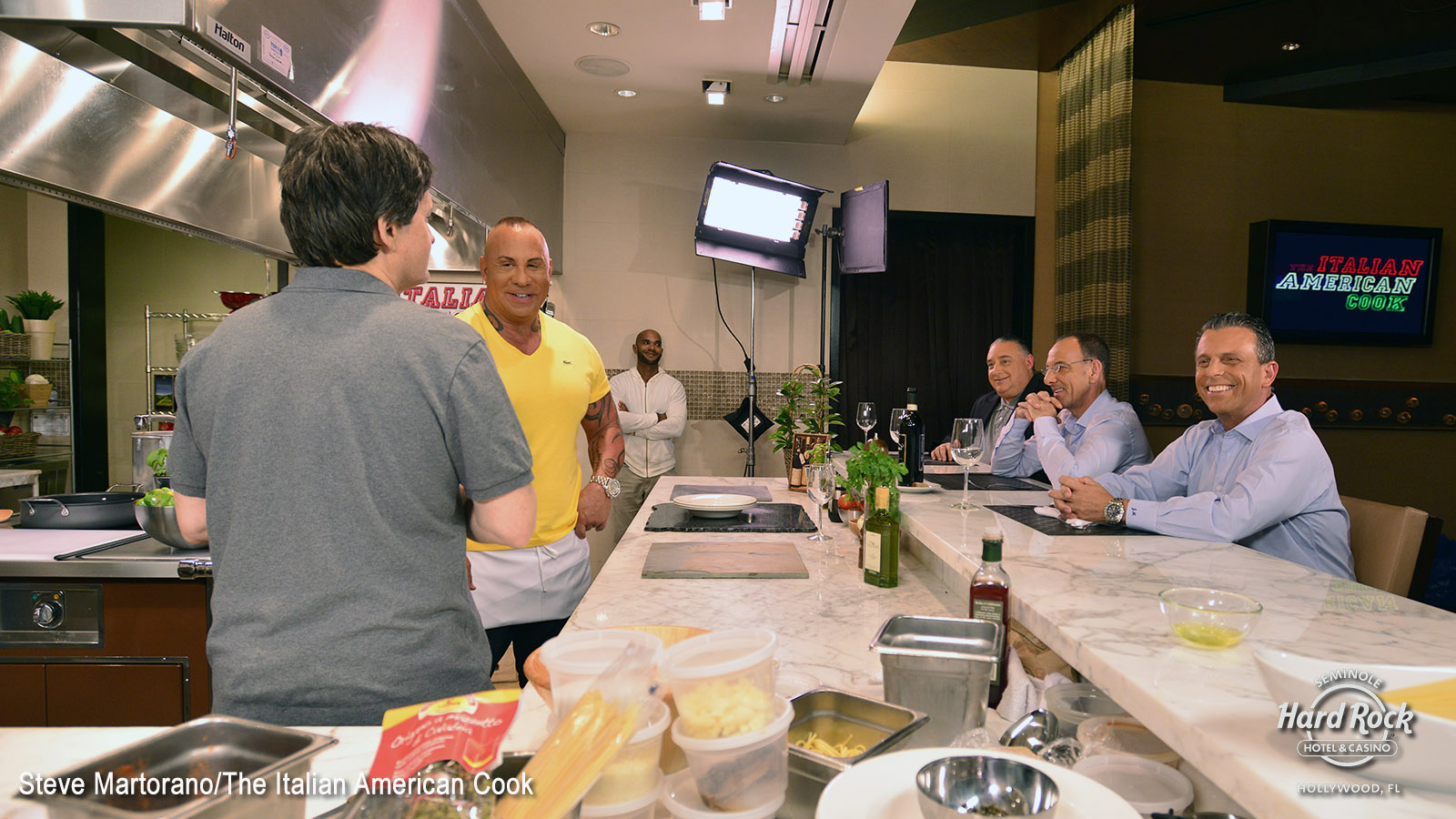 Steve Martorano Brings Italian-American Cuisine To The Small Screen