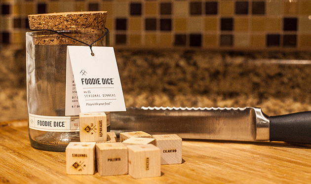 Take a Roll with Foodie Dice