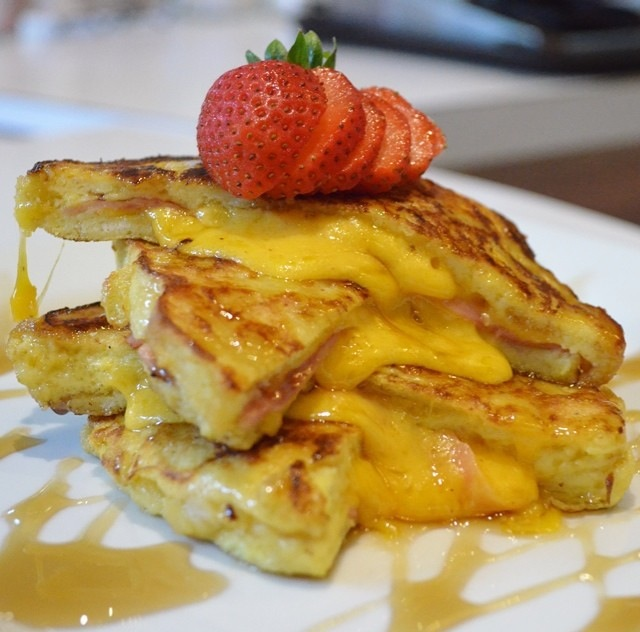 Wow @aldojhf knocked this Monte Cristo French Toast out the park! #YouGottaEatThis APPROVED!