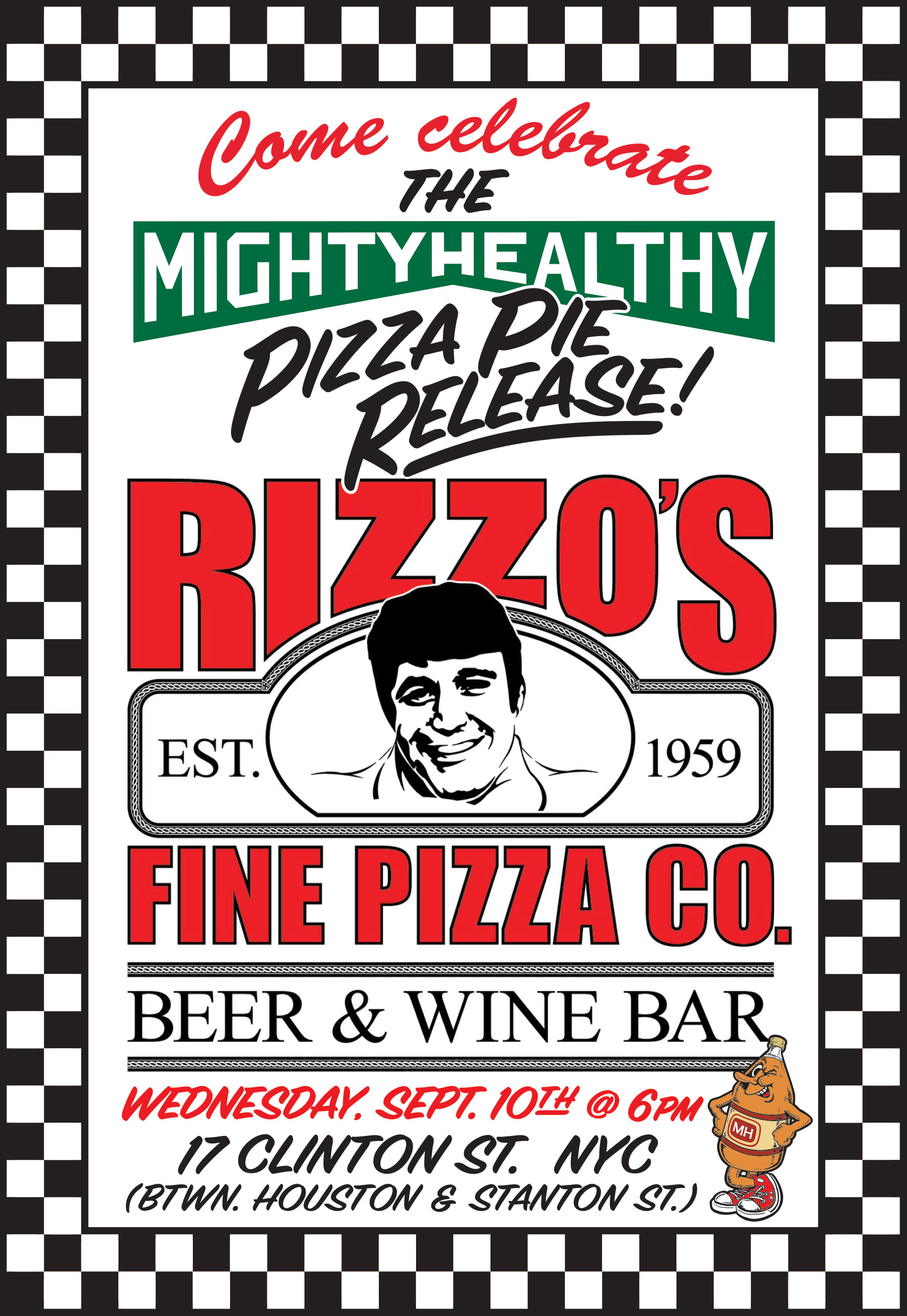 Mighty Healthy X Rizzo's Pizza