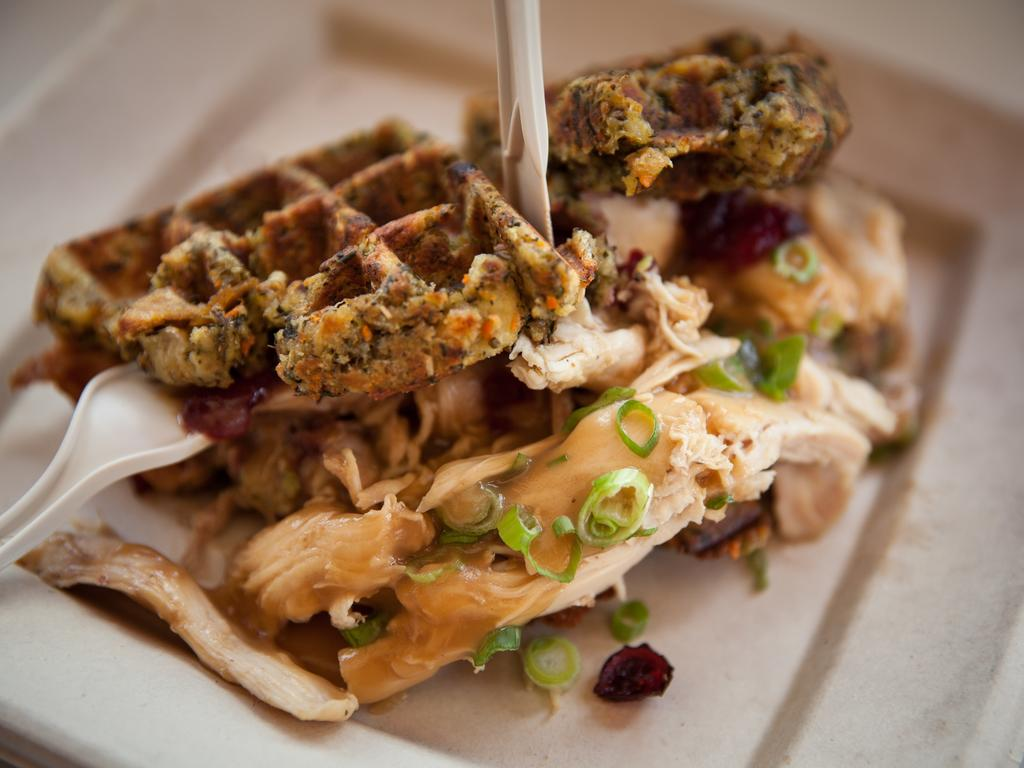 Thanksgiving Waffles at the CNE in Toronto! –  by Fabulous Faith