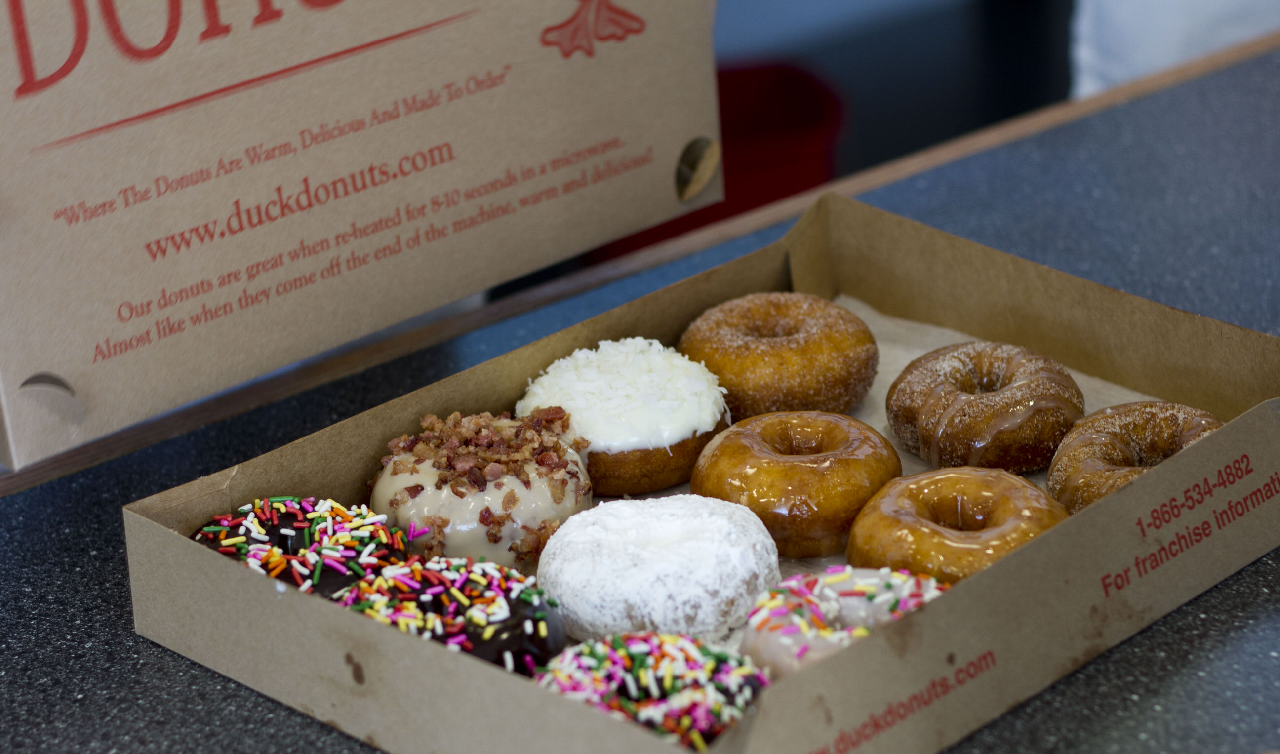 Doughnut destination takes a quack at competition