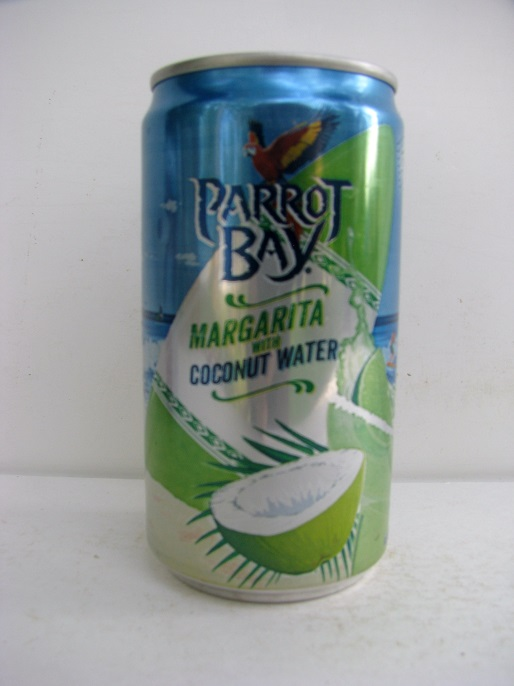 Parrot Bay Margarita with Coconut Water: A Cocktail without Calories