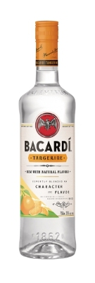 Bacardi Adds Tangerine To It's White Rums