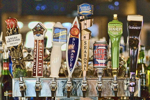 Over 150 Beer & Custom Drink Choices