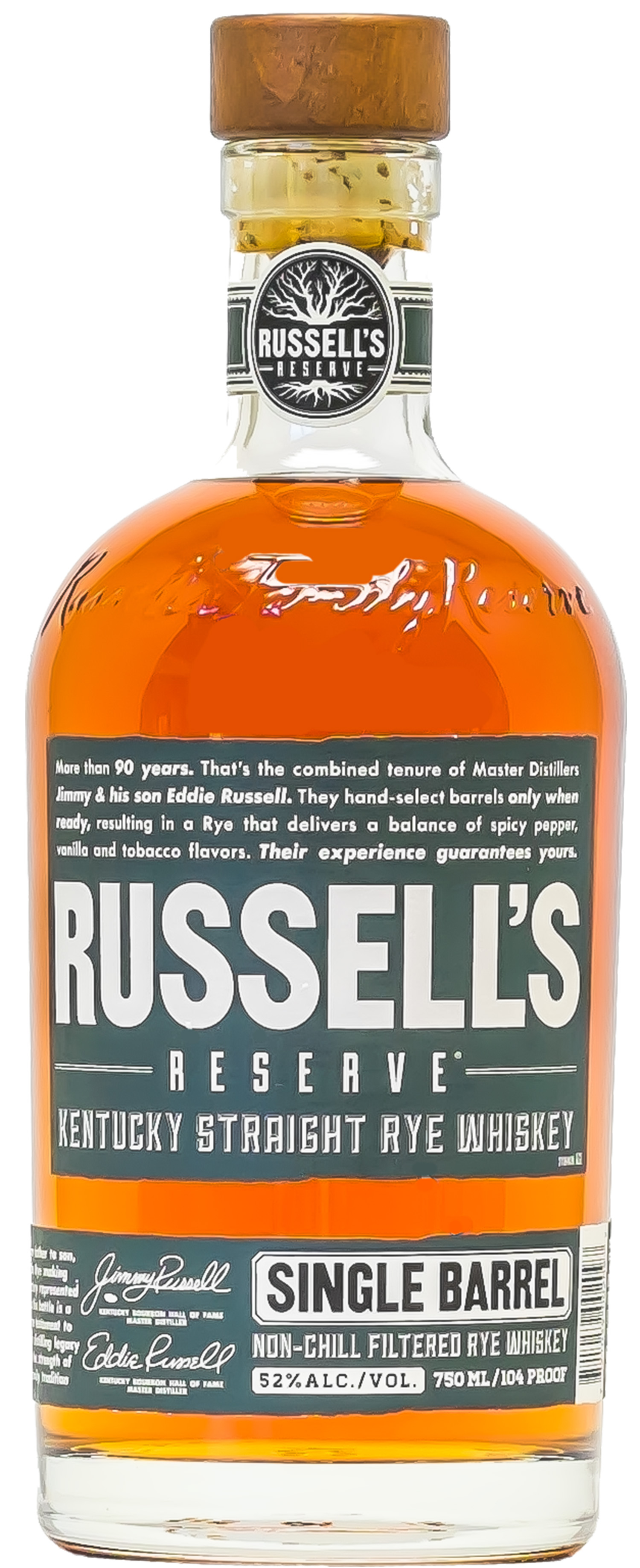 Russell's Reserve Unveils Single Barrel Rye Whiskey