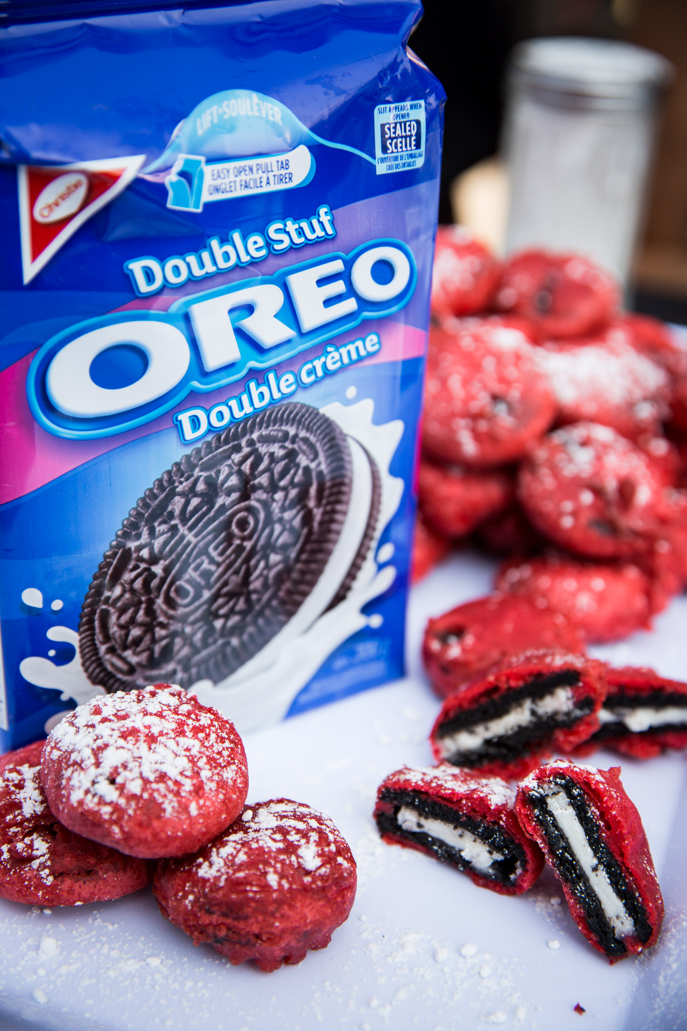 Deep Fried Red Velvet Oreos – CNE 2K15 by Fabulous Faith