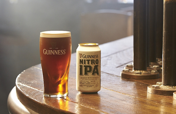 Guinness Puts An Irish Twist On Nitro IPA Beer