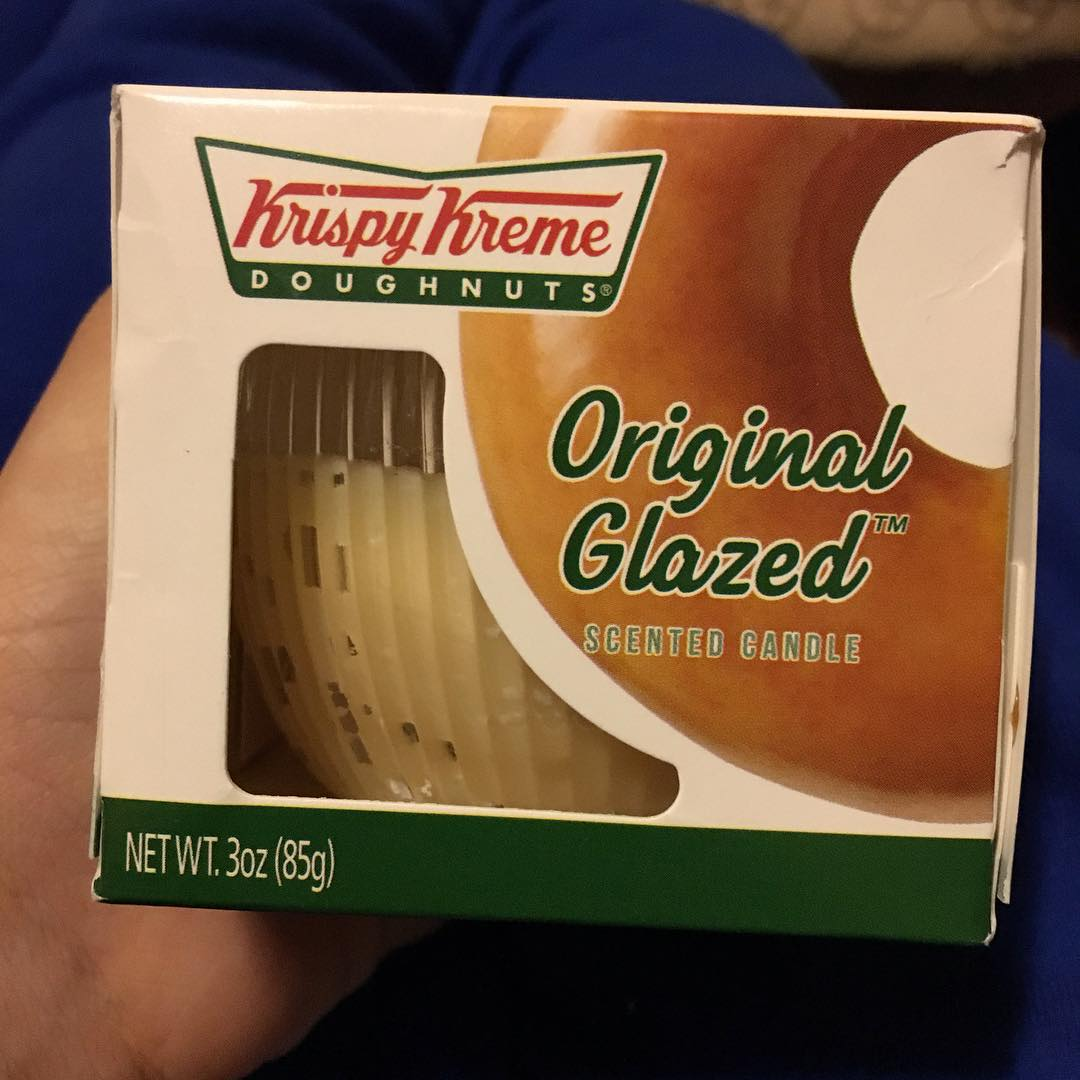 When your about that @KrispyKreme Doughnut life so much you want the whole house to smell like Original Glazed Doughnuts!! #YouGottaEatThis Approved only thing is we don't suggest eating the candle!! || #😳 #😍 #🍩 #🏆 || 📷 @_SkylerAnn