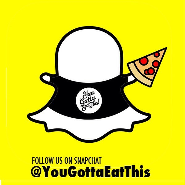 We're on #Snapchat!! Add us 👻 👉🏽 yougottaeatthis | Sure to have stories on top of stories full of #FOODPORN!!