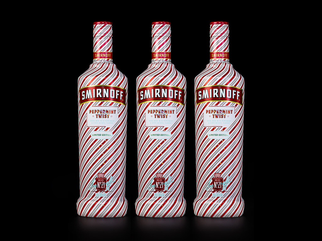 Smirnoff Vodka Unleashes Limited Edition Peppermint Twist