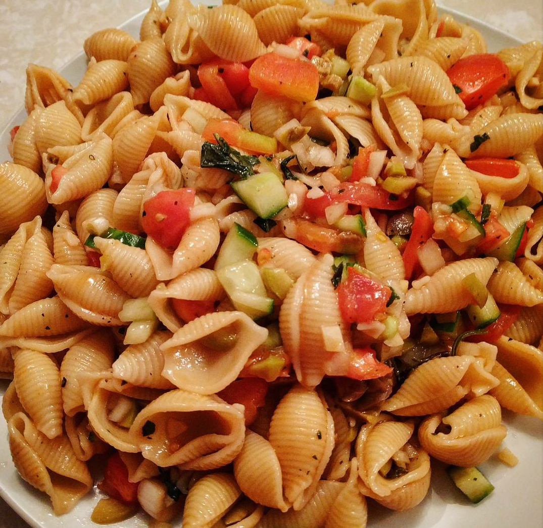 Vegan Italian Pasta Salad Recipe by Fabulous Faith