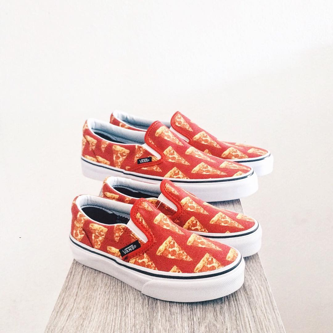 Congrats to @yegotjs. You won the @Vans 🍕 Giveaway!  Should we do more Giveaways soon? and wear this lol • Thanks to @babyshoegame for partnering with us! •