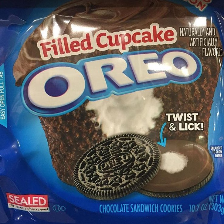 I found you…@oreo you too wild for this one and I need you now (in our best voice) filled Cupcake Flavored Oreos!!!! Who's tryna share with the team??? Tag them here #🍪