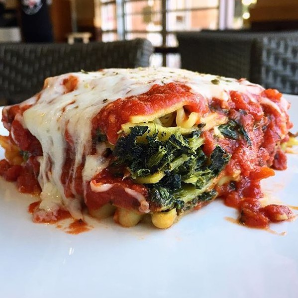 Spinach Lasagna 😍 In the words of @djkhaled, @rosecitypizza has!! 💣🔑