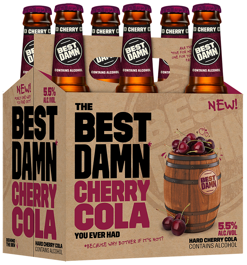 Anheuser-Busch & Best Damn Brewing Co. Launch Hard Cherry Cola