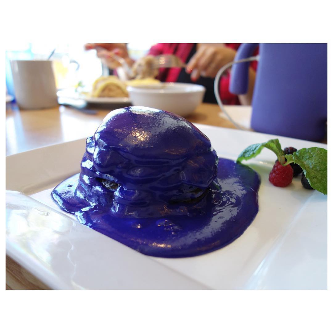 Our friend @alexcrooks celebrated a lil early with some in!  Ube is a purple or often found in in the 💜🇵🇭🍴😋