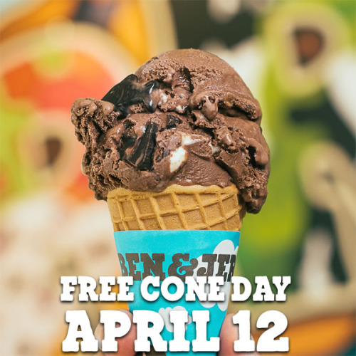 Ben & Jerry's Will Be Giving Away Free Ice Cream In April