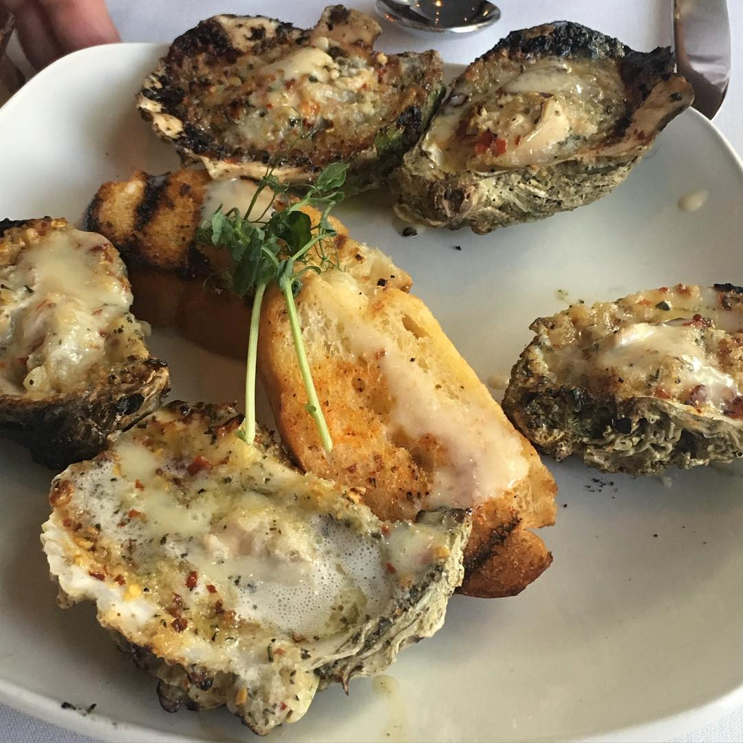 Our very own @TrillOG say's Nola Style Charbroiled Oysters from @holleysseafood is Approved!!