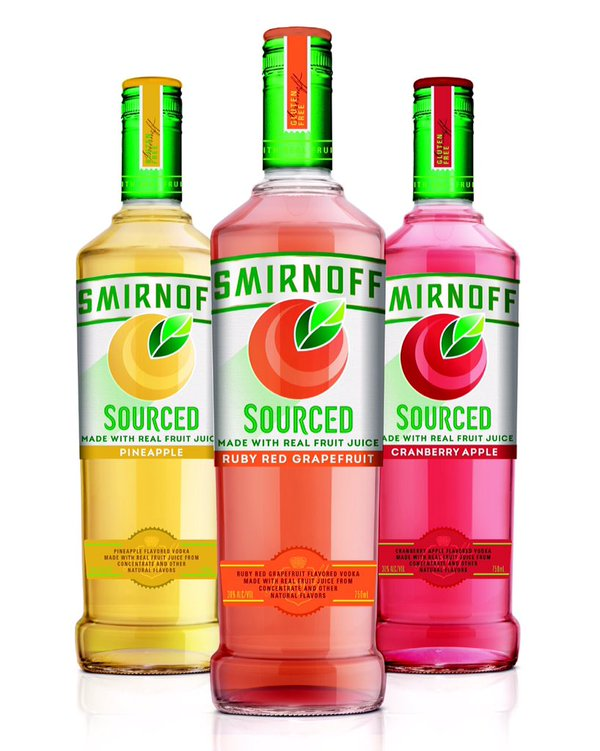 Smirnoff Introduces Gluten Free Vodka Made With Real Fruit Juice