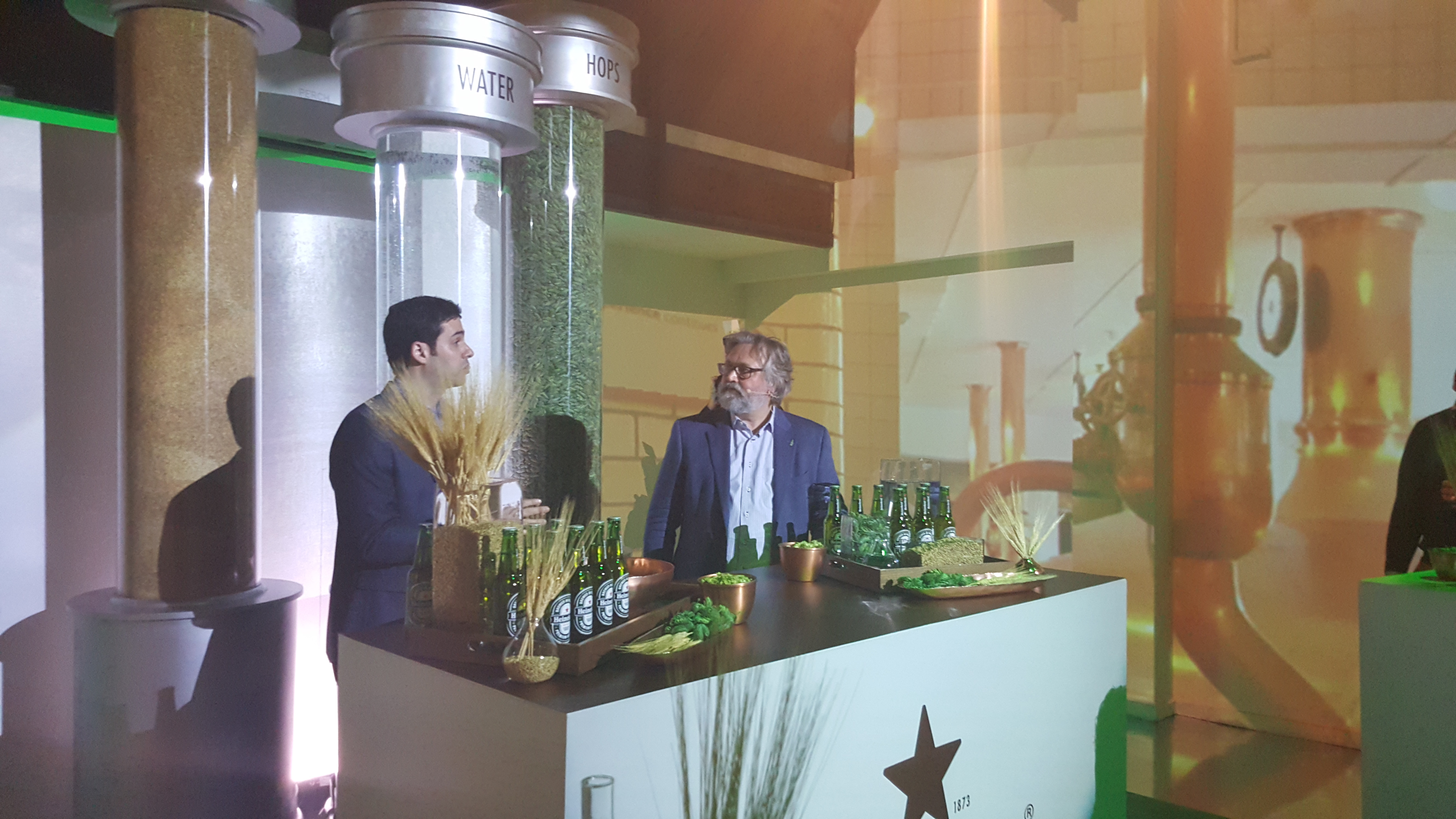 Heineken Gives Fans A History Lesson At Private Master Class In NYC