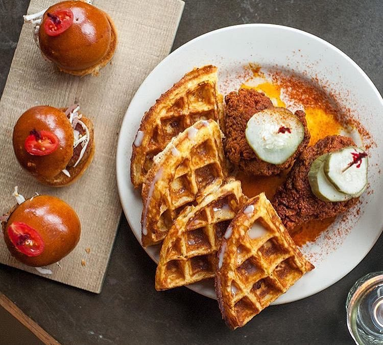 Nashville Hot Chicken & Condensed Milk Waffle from @SweetChickLife has been Declared Approved by our guy @_RayMate!! Check out the latest post on YouGottaEatThis.com and!!