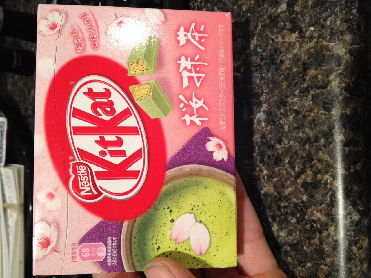 Wasabi Kit Kat From Japan