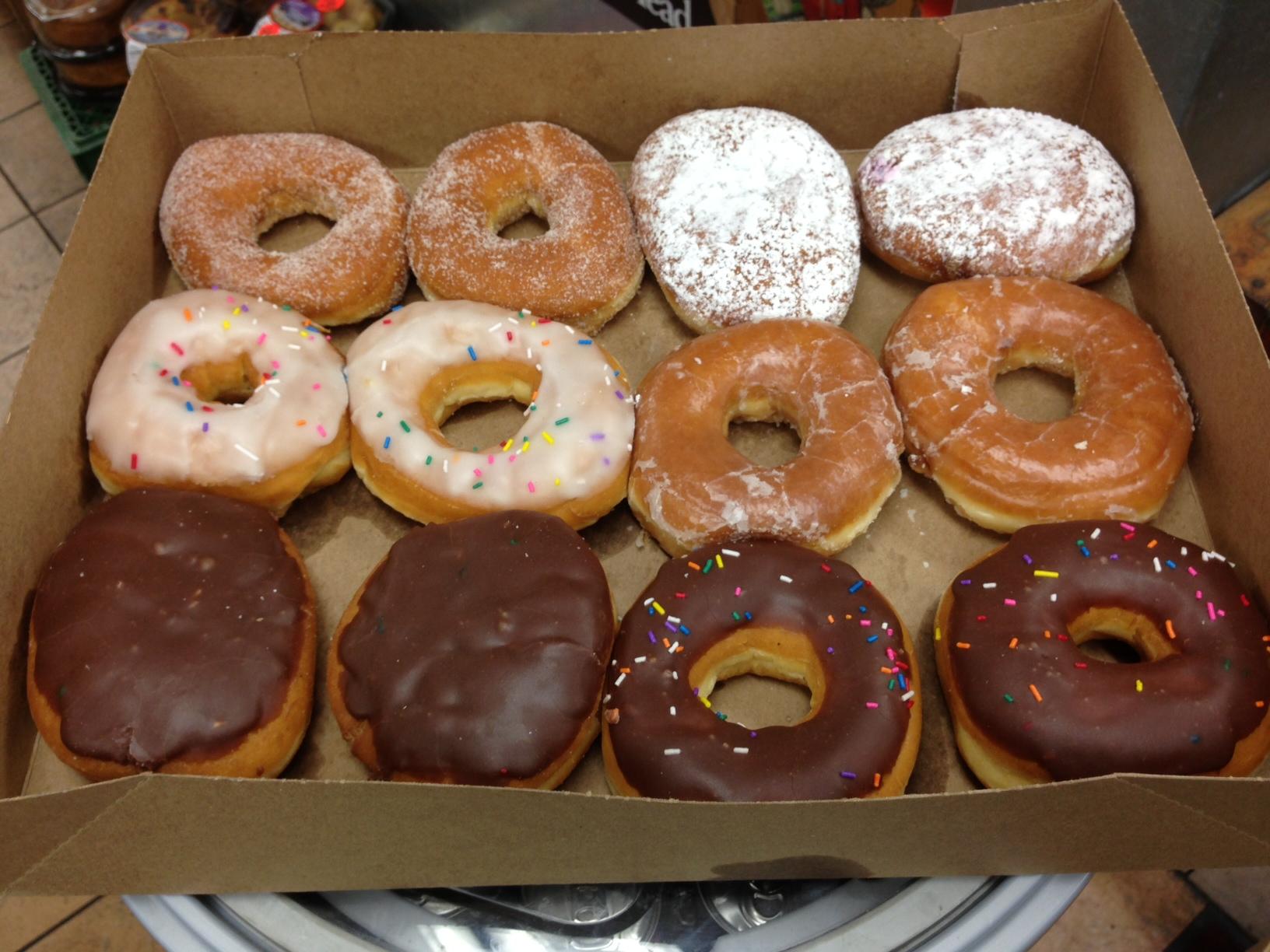 Snacks by the dozen