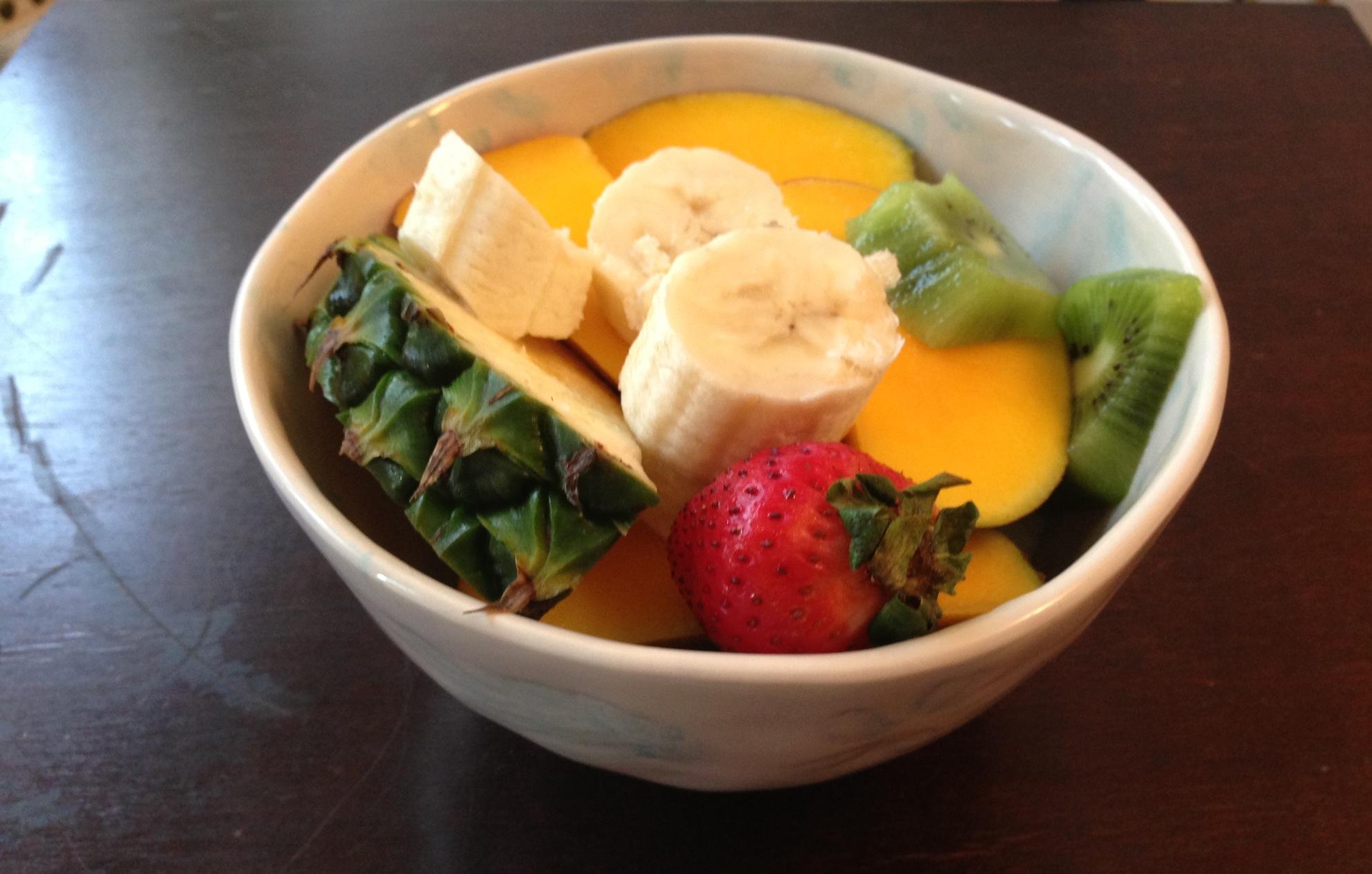 Morning Fruit Bowl