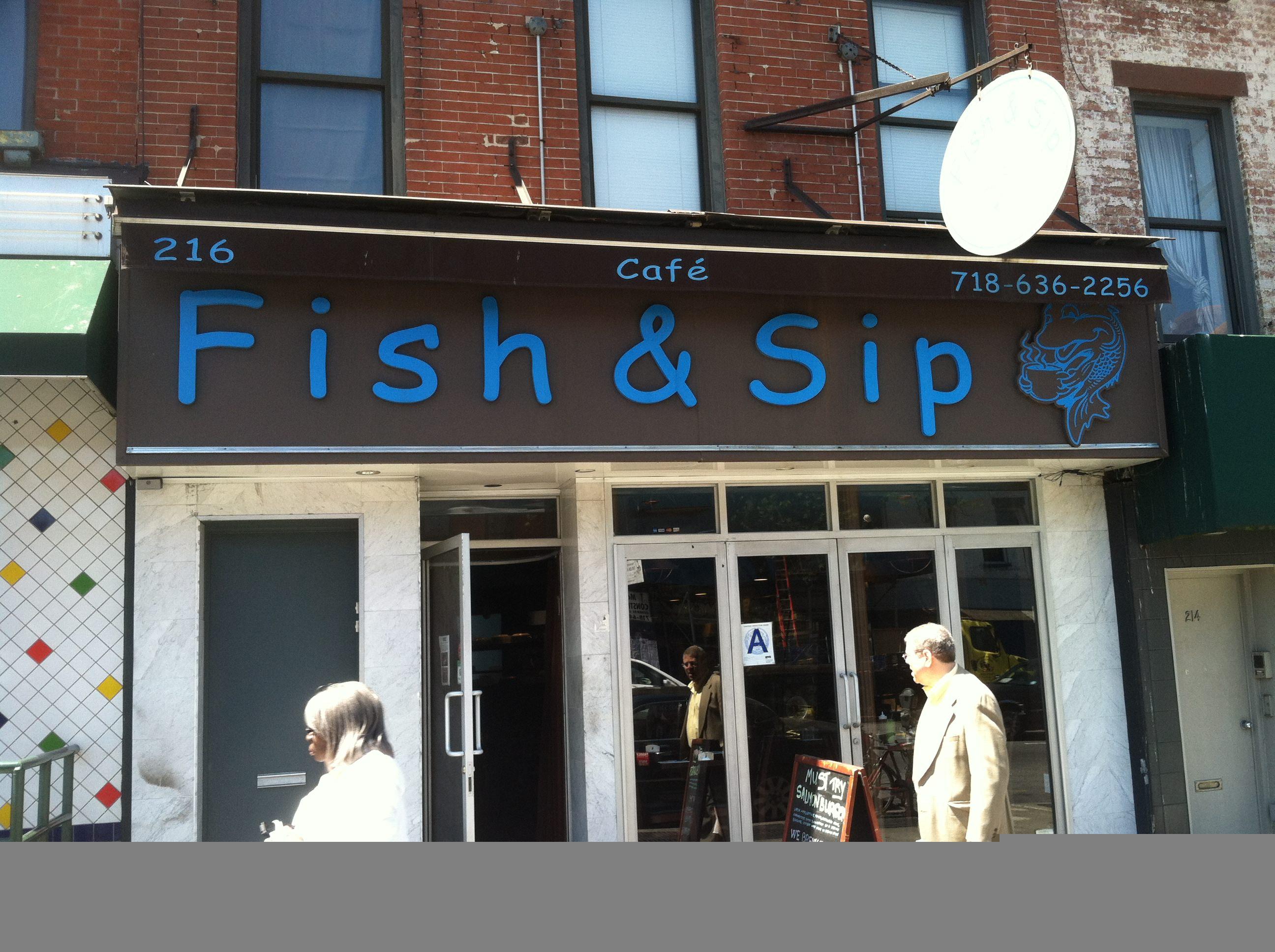 Fish & Sip Cafe