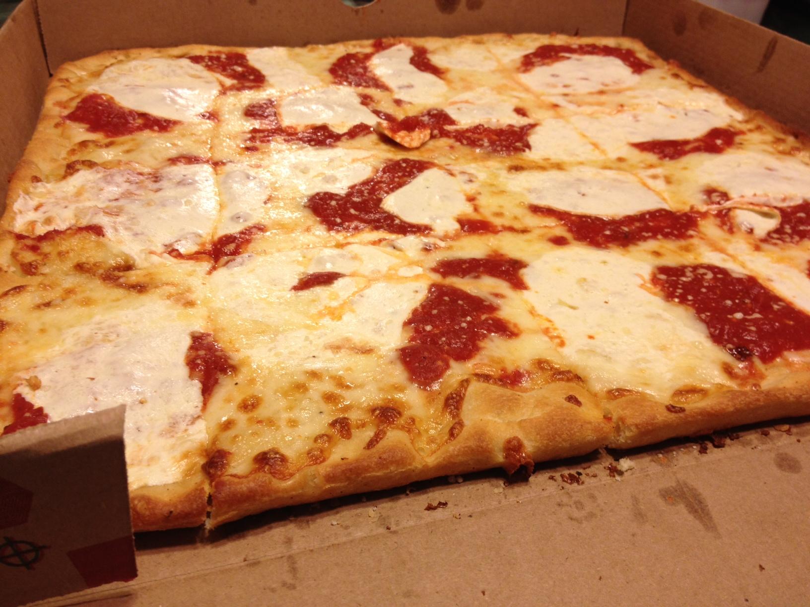 Upside Down Grandma Pizza Pie