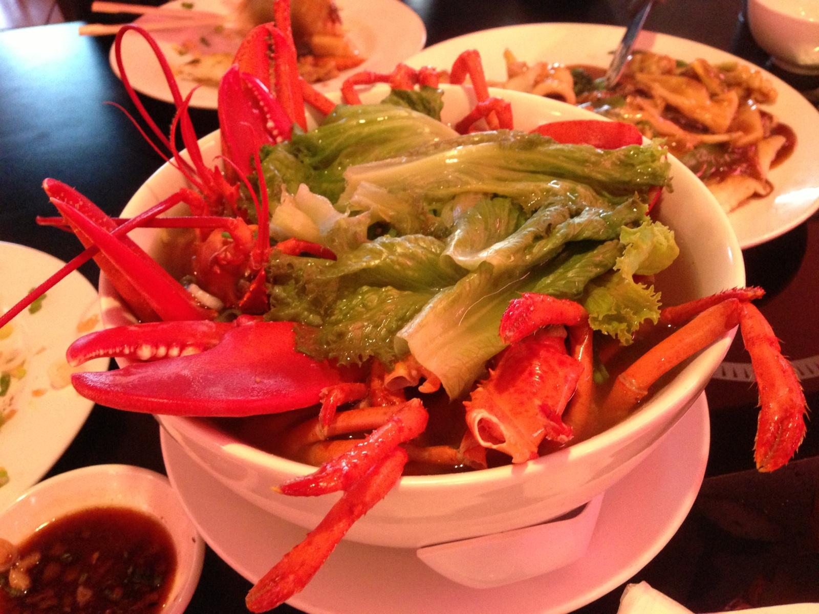 Lobster Soup from Tan Tan in Houston, TX