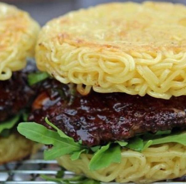 "The ""Ramen Burger"""