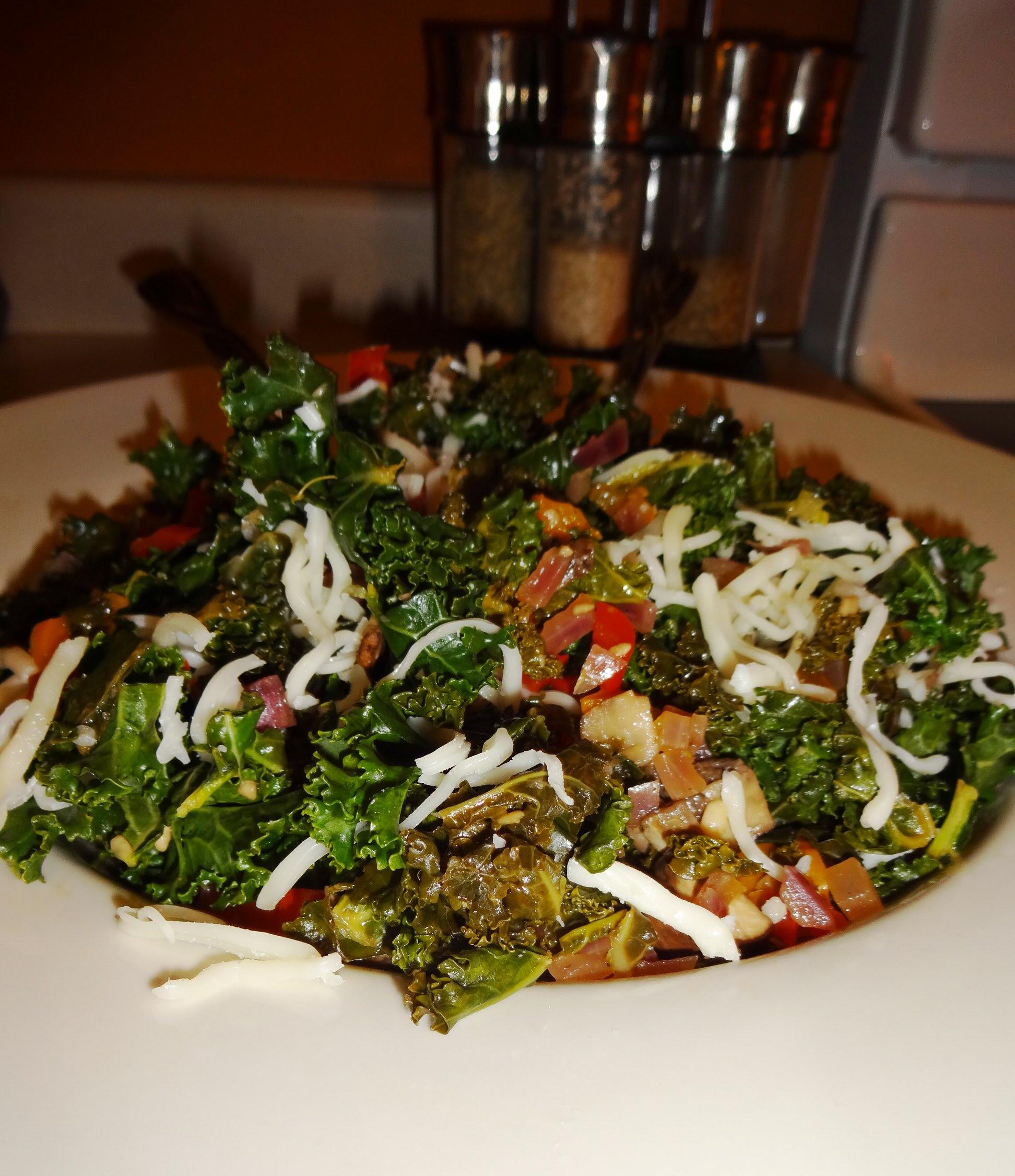 Savory Balsamic Kale Salad