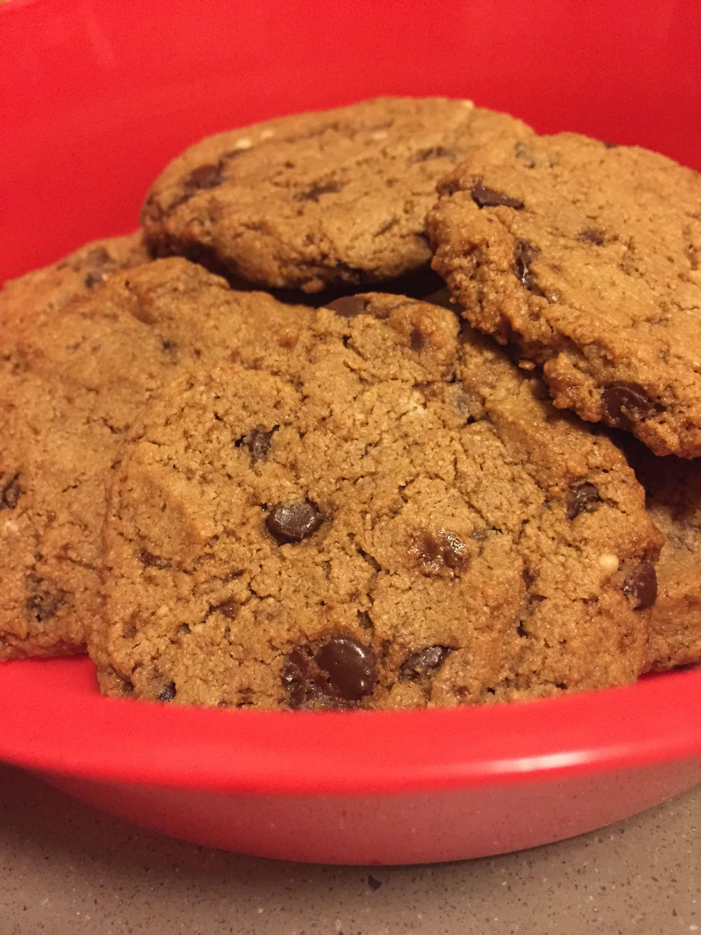 Paleoful Chocolate Chip Cookies